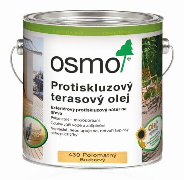 Protišmykový terasový olej bezfarebný polo matný 430